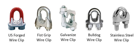 Harga Wire Rope Clip