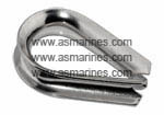 Jual Wire Rope Thimble Stainless Steel Cina