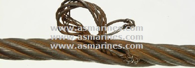 Wire Rope Core Protrusion
