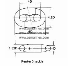 Kenter Shackle Anchor Chain