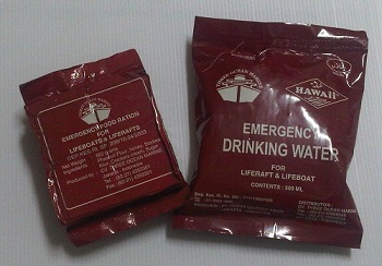 Emergency Food Ration & Emergency Drinking Water