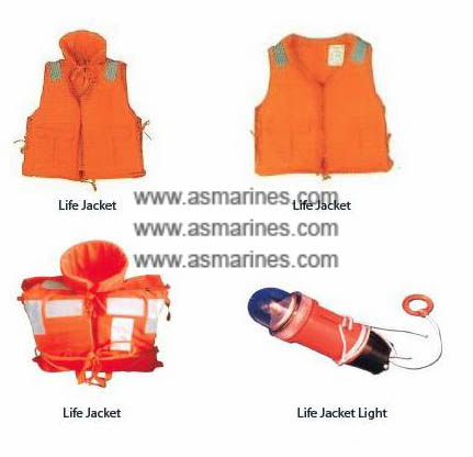 Life Jacket & Light Baju Pelampung