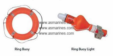 Ring Buoy & Light