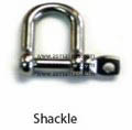Shackle Segel Stainless Steel