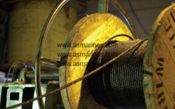 Wire Rope digulung
