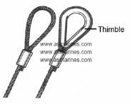 Wire Rope Sling Thimble