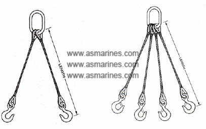 Wire Rope Sling Multi Leg